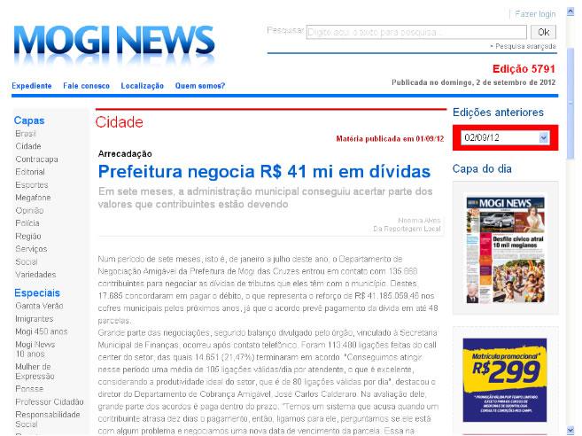 Prefeitura negocia R$ 41 mi em dívidas